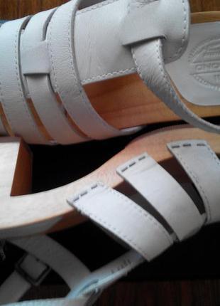 Красивые кожаные босоножки vagabond 25 см стелька 6 см каблук