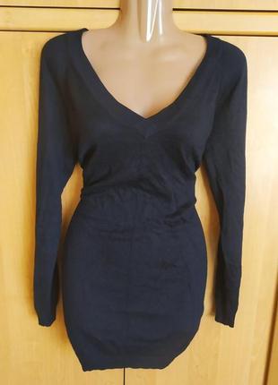 Супер классное платье туника c v образным вырезом