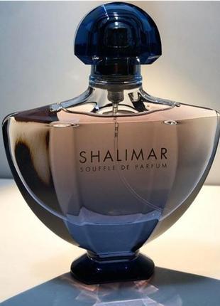 Парфюмированная вода guerlain shalimar souffle de parfum, отливант 2 мл