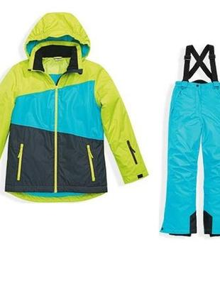 Лыжный термо костюм штаны и куртка 110-116 германия crane