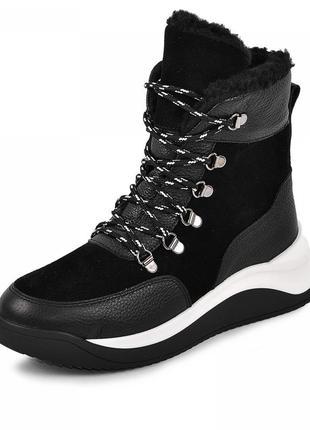 Спортивные кожаные ботинки новинка!