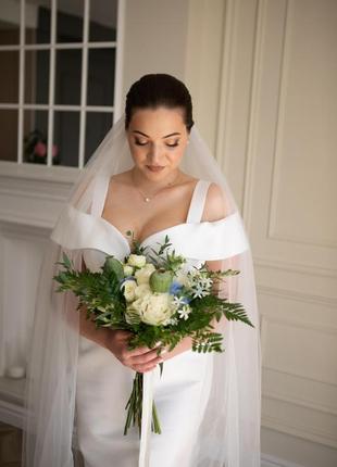 Роскошное свадебное платье индивидуального пошива