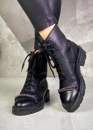 Рр 36-40 натуральная кожа ботинки