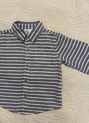 Рубашка на мальчика (12-24 мес)