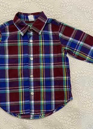 Рубашка на мальчика gap (на 2 года)