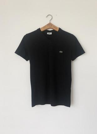 Шикарная хлопковая футболка lacoste