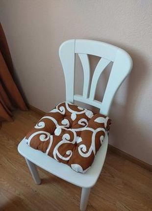 Мягкие подушки сидушки на стулья или табуреты