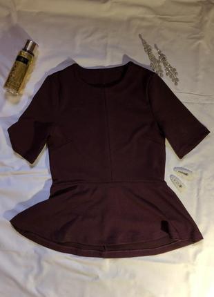 Красивая блузочка с баской