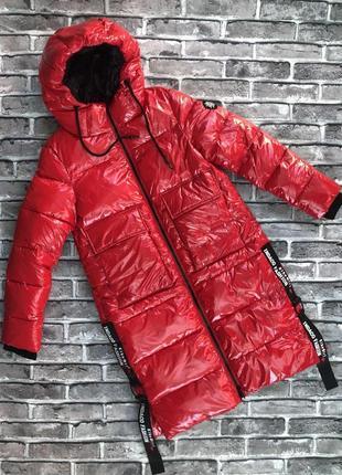 "Пальто зимнее для девочки, наполнитель - тинсулейт (""био-пух""), ""файорелла""(kiko)"