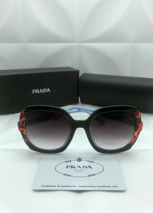 Женские солнцезащитные очки в стиле prada🔥люкс качество