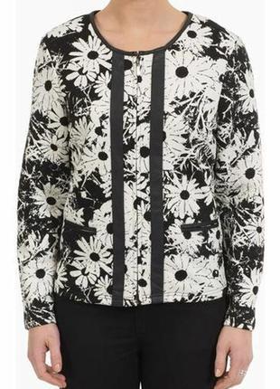 Классный жакет на молнии,пиджак klass большого размера