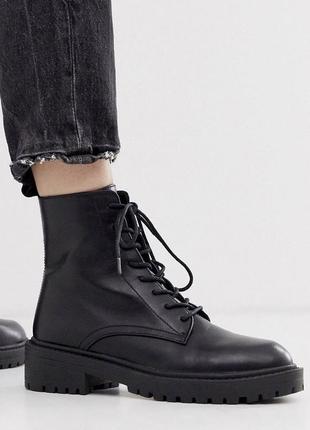 Черные ботинки asos