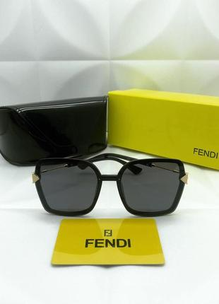 Женские солнцезащитные очки в стиле fendi🔥люкс качество