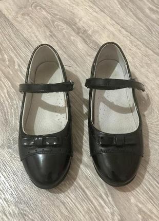 Туфли в школу по стельке 19,5 см