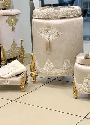 Набор корзинок для ванной комнаты 😍