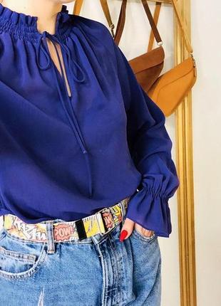Фиолетовая блуза от marks&spencer