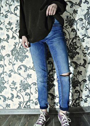 Синие джинсы от next