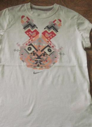 Брендовая футболка на 10-12л. nike (оригинал)