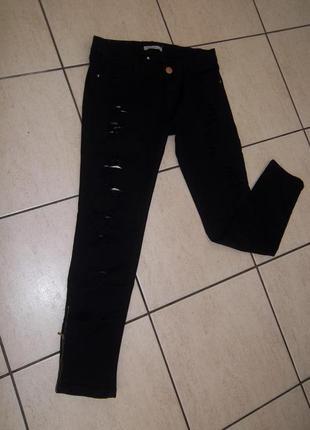 Стильные рваные джинсы италия