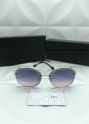 Женские солнцезащитные очки в стиле dior диор🔥люкс качество