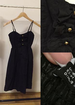 Плаття літнє чорне