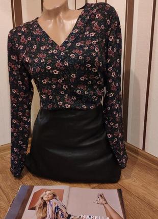 Стильная блуза,цветочный принт,100%вискоза s.oliver