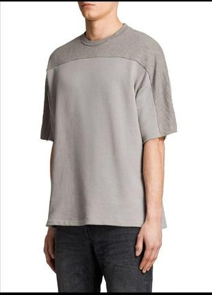 Allsaints свитшот футболка овершот