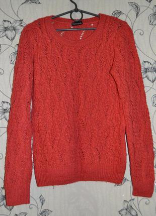 Теплый вязаный свитер от parkhande