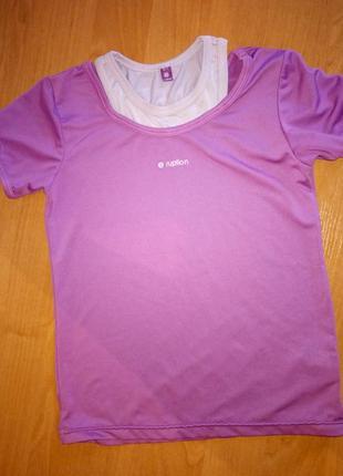 Распродажа! спортивная футболка на девочку бренд ruption