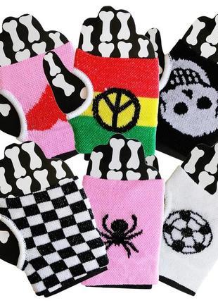 Хэллоуин напульсники с пальцем - набор 6 шт цена за набор