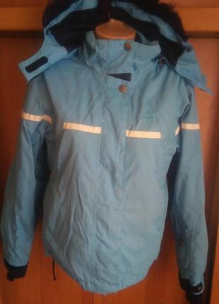 Термо куртка, деми, мембрана, внутри флис, мембрана, s. crane sports.