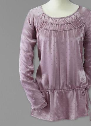 Шелковая блуза-туника тсм tchibo