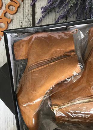 Трендовые полуботинки на скошенном каблуке с декоративной кисточкой    sh17174 фото