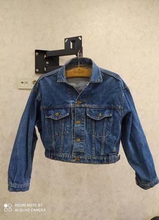 Винтажная джинсовка джинсуха джинсовая куртка