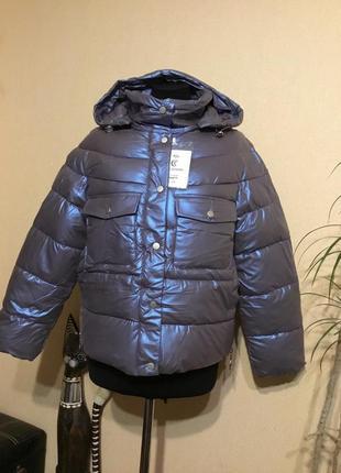 🔥скидка🔥новинка сезона! куртка демисезонная пуховик хамелеон осенняя осень
