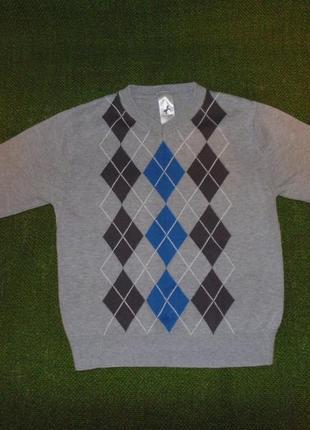 Серый свитер, джемпер palomino. 5 лет,110см.