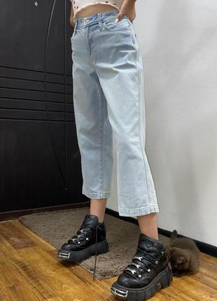 Широкие штаны , кюлоты , прямые джинсы , широкие джинсы