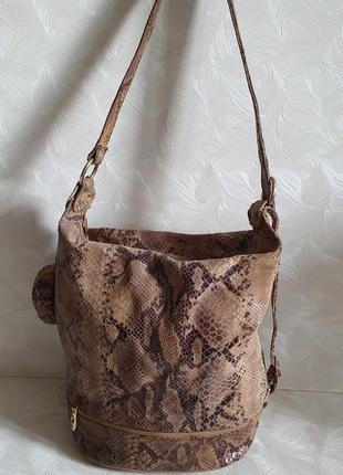 Кожаная сумка emil vera pelle