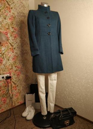 Пальто от levis#бирюза+черный