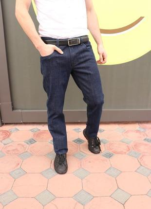 Джинсы мужские синие винтажные