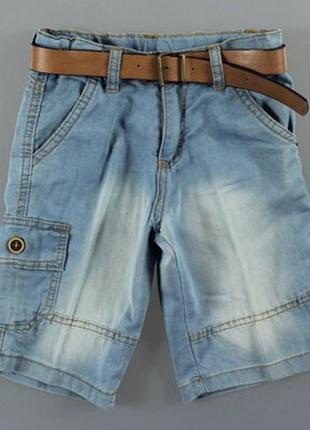 Джинсовые шорты для мальчика турция
