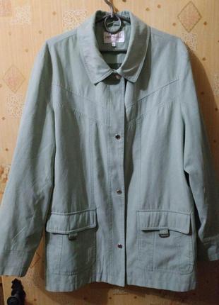 Практичная куртка жакет ветровка