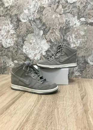 Nike 39 р кожа кроссовки сникерсы ботинки кросівки черевики