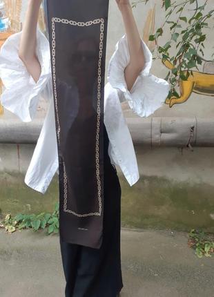 Шелковый шарфик celine