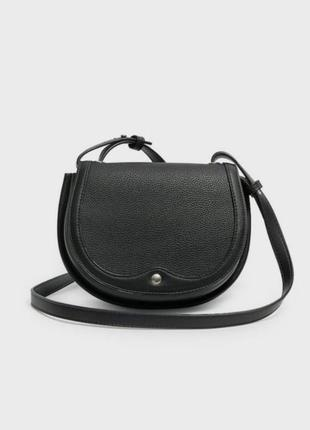 Чёрная сумка crossbody stradivarius кросс боди