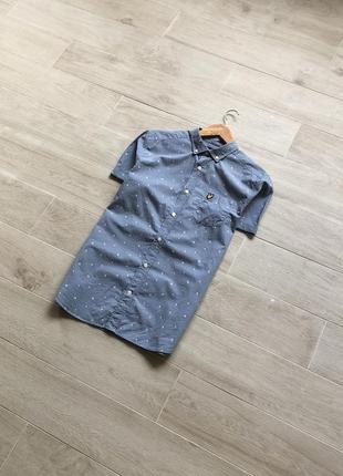 Рубашка на короткий рукав lyle&scott