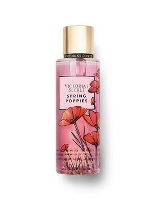Мист спрей victoria's secret spring poppies