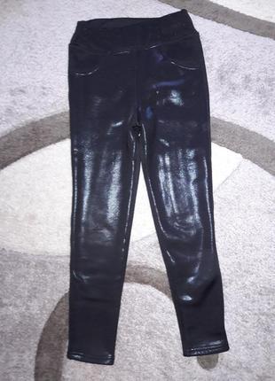 Теплые легинсы штаны