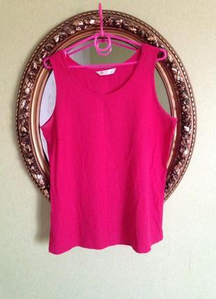 Малиновая блуза майка