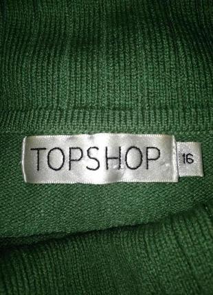 Зеленый свитер гольф